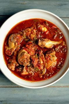 Poulet basquaise: Pair with a red Bordeaux. Southwest.