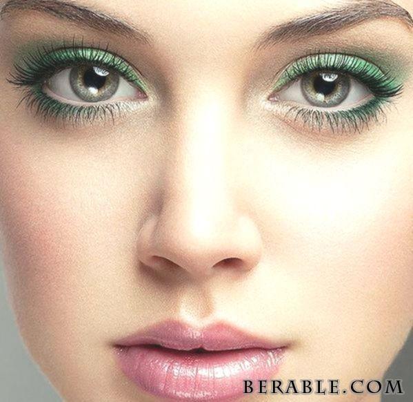 Green Eye Makeup Techniques Augenmakeup Green Makeup
