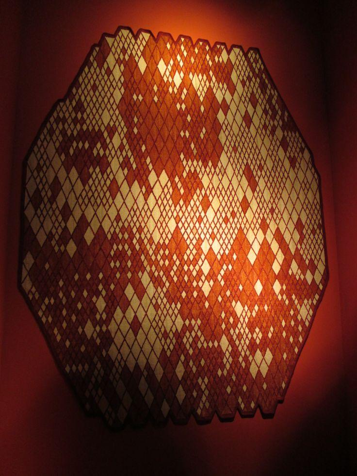 Inspired carpet design from Nanimarquina at Salone de Mobile.