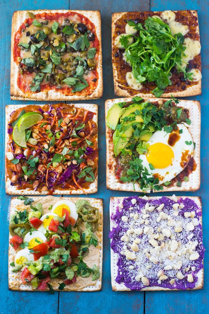 Matzo Toppings fromA round the World: 6 Ways!