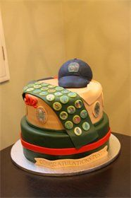 Eagle Scout - Boy Scout cake - I hope I get to make one of these for my little man some day!