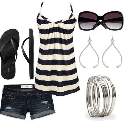 Cute summer outfit - Click image to find more fashion posts
