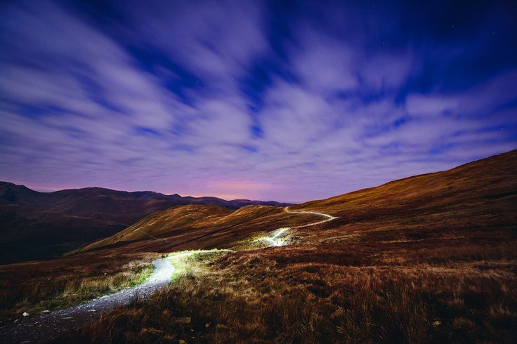 Late Night Light Trails