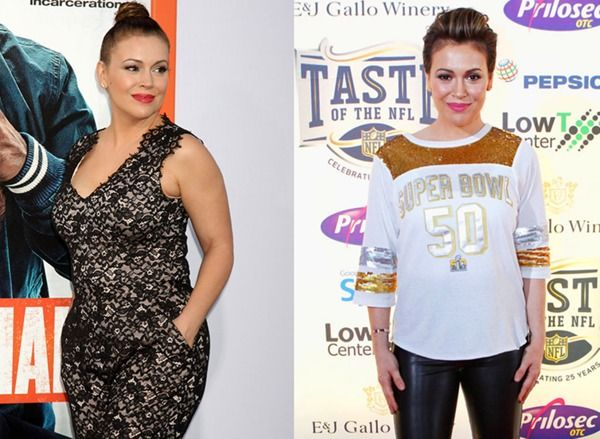 Alyssa Milano proves that it's possible to eat pizza, cheese, and (kale) chips—and still reach your body goals. These 20 ingredients and snacks were her go-to choices!
