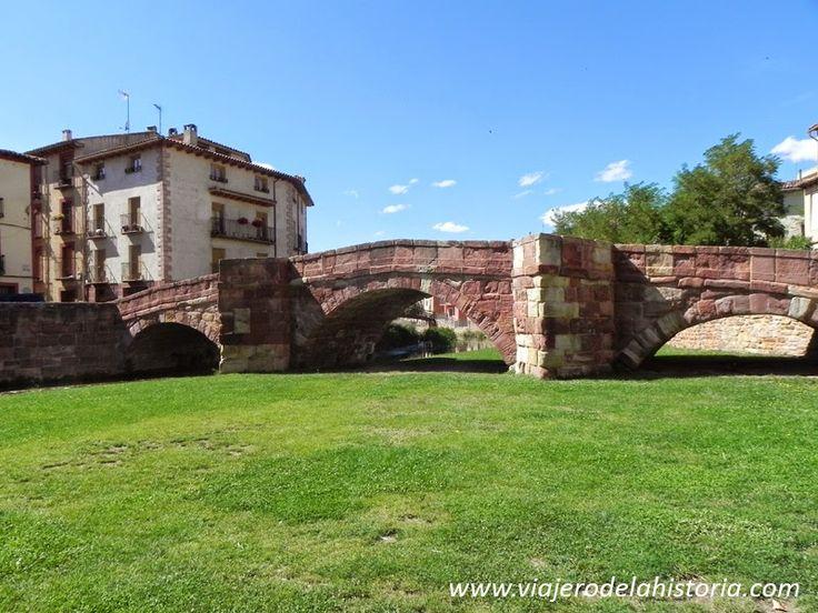 Viajero de la Historia: Molina de Aragón, ciudad fortaleza. Puente románico, siglo XIII.