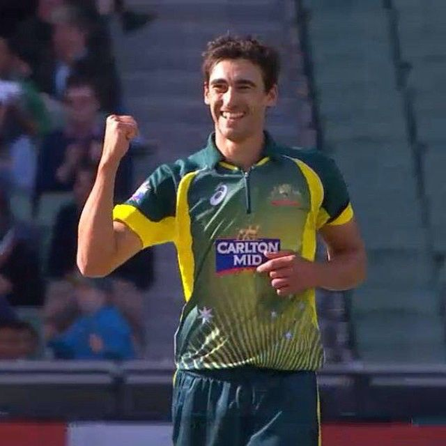 Mitchell Starc is awarded Player of the Match! #AUSvIND #WWOS