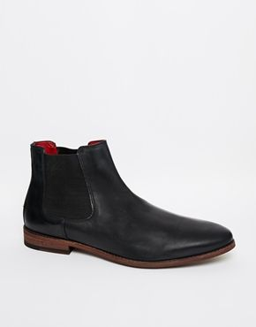 Enlarge New Look Leather Chelsea Boots