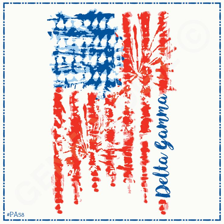 Geneologie | Greek Tee Shirts | Greek Tanks | Custom Apparel Design | Custom Greek Apparel | Sorority Tee Shirts | Sorority Tanks | Sorority Shirt Designs | Sorority Shirt Ideas | Greek Life | Hand Drawn | Sorority | Sisterhood | Patriotic | Flag | Tie Dye | Delta Gamma | DG | America | American Flag