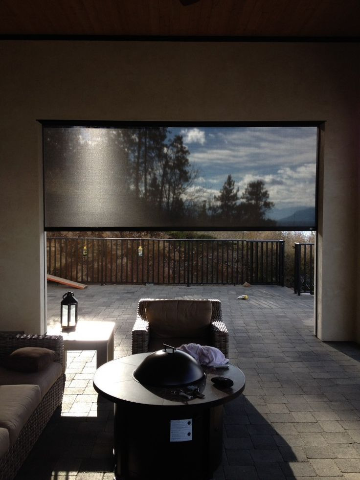 Solace Retractable Solution Screens Stop the Sun's Heat and Glare and Preserve Your View
