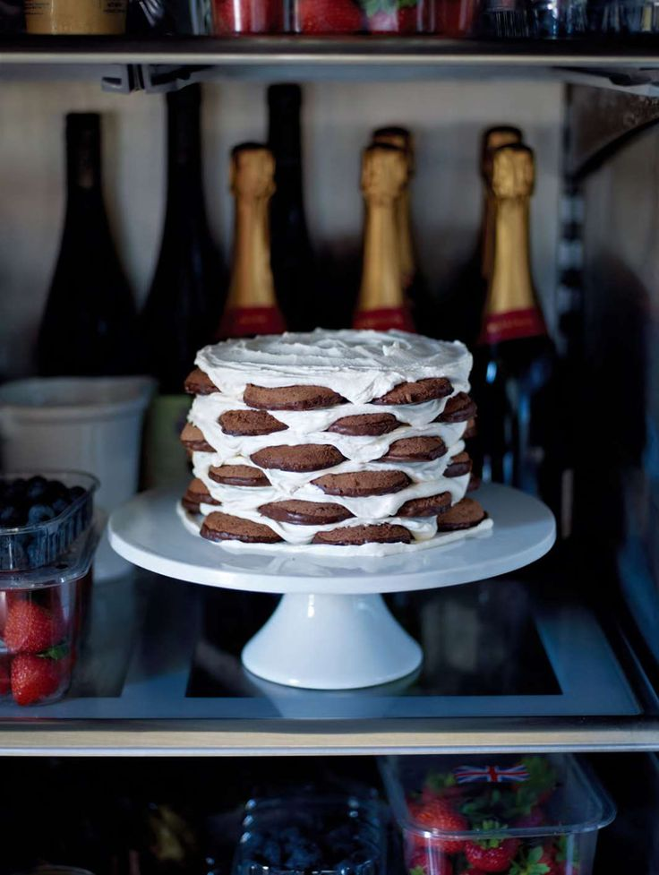 James Martin's Ice Box cake