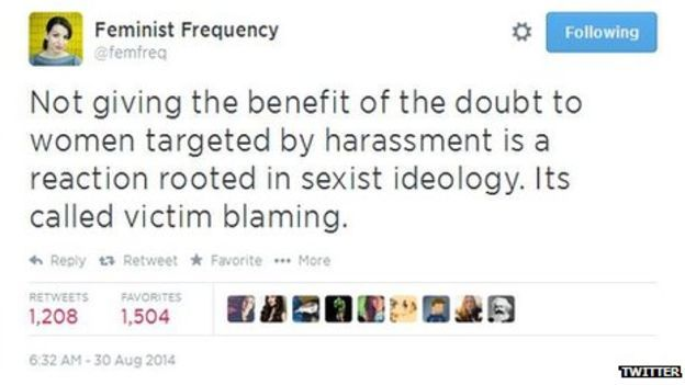 Gamers take a stand against misogyny after death threats - BBC News