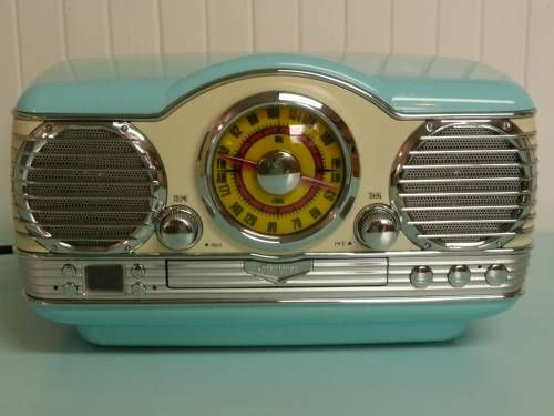 Memorex Nostalgic Retro 50s Crosley Car Style Am Fm Radio