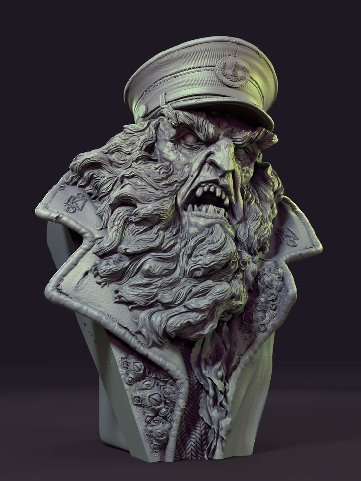 ArtStation - Evil Lighthouse Keeper from Scooby Doo, James W Cain