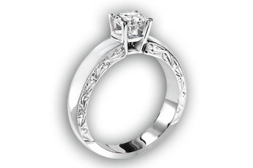 ASF - 006 Or et diamant disponible chez Marcel / André diamantaire www.marcelandre.com