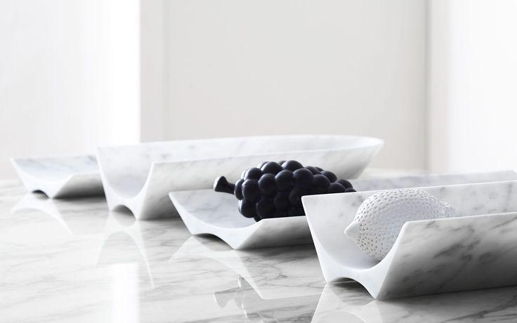 Fruttiera in marmo ARCA by Carlo Trevisani Atipico