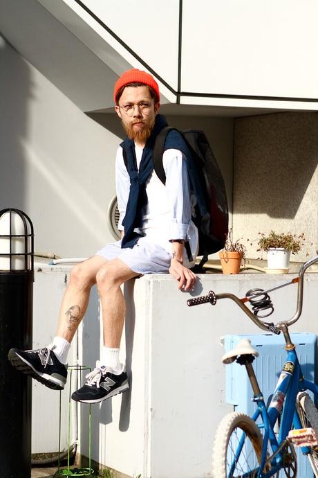 ストリートスナップ [SHON] | COMME des GARCONS, mont-bell, New Balance, used | 原宿 | 2012年05月27日 | Fashionsnap.com