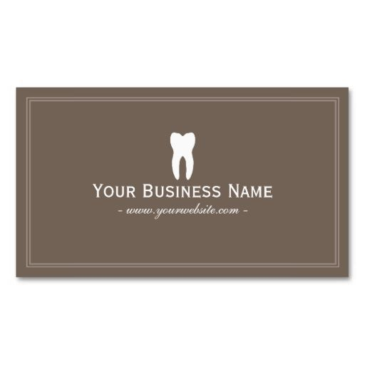 The 25+ best Dental business cards ideas on Pinterest Dental - free sample business cards templates