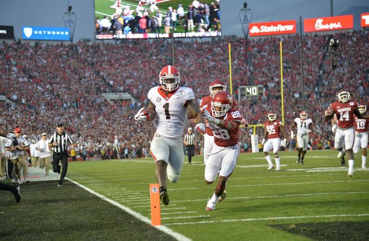 Georgia running backs stand out again in Rose Bowl - Atlanta Journal Constitution