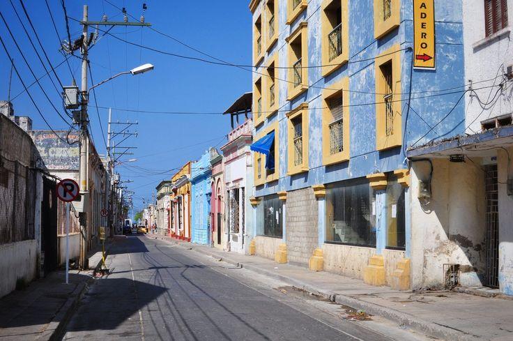 Rues de Santa Marta, Colombie