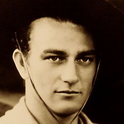 John Wayne / Born: Marion Robert Morrison May 26, 1907 in Winterset, Iowa, USA / Died: June 11, 1979 (age 72) in Los Angeles, California, USA actor