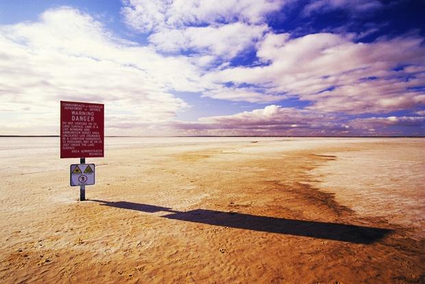 Lake Hart, Woomera area, South Australia. My mum lived/worked at Woomera for years