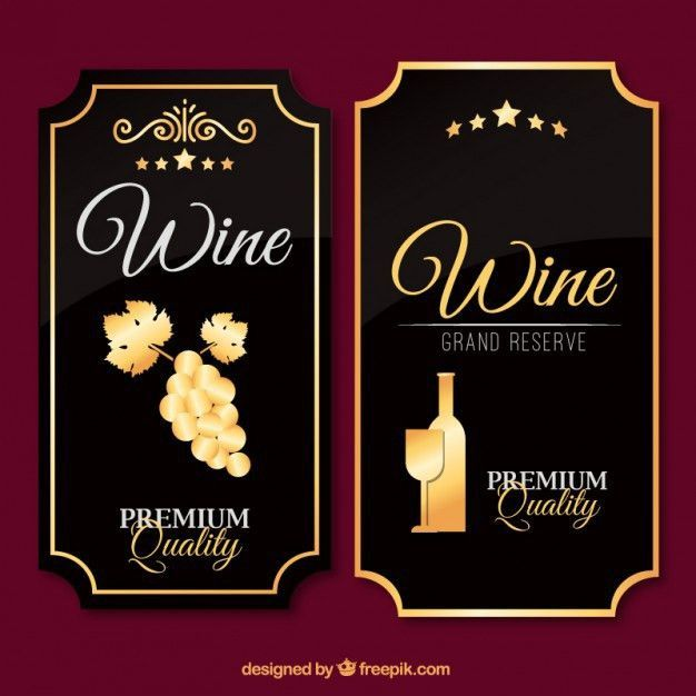 Image result for wine bottle label template free download | Products ...