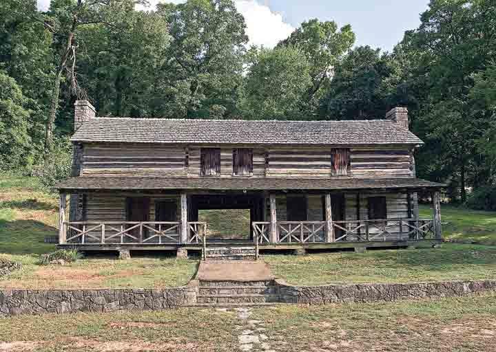 Cherokee nation model homes