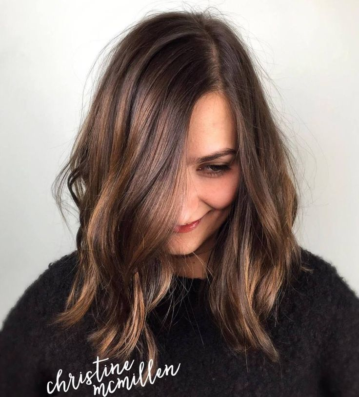 Medium Messy Side-Part Hairstyle