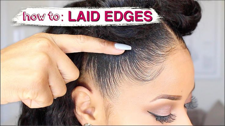 EDGES LAID TO THE GAWDSSS! ➟ how I slay my natural edges [Video] - https://blackhairinformation.com/video-gallery/edges-laid-gawdsss-%e2%9e%9f-slay-natural-edges-video/