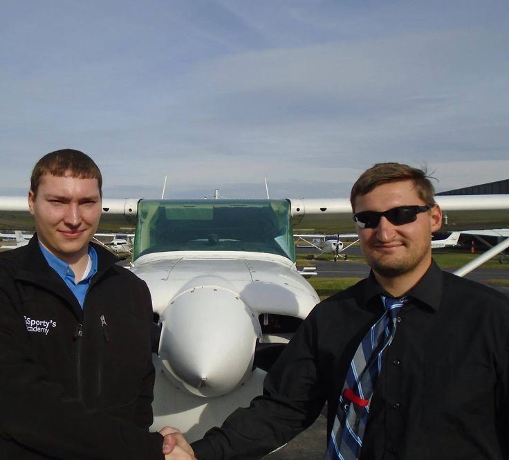Ryan Wirtz earned his Single-Engine Commercial pilot certificate on December 4 2017. With his Commercial pilot certificate Ryan is now approved by the Federal Aviation Administration to fly aircraft for compensation. Ryan is enrolled in the Aviation Technology: Professional Pilot Program at the University of Cincinnati Clermont College. The laboratory portion of the Professional Pilot Program is taught by Sportys Academy at the Clermont County Airport in Batavia Ohio.  Ryan is pictured with…
