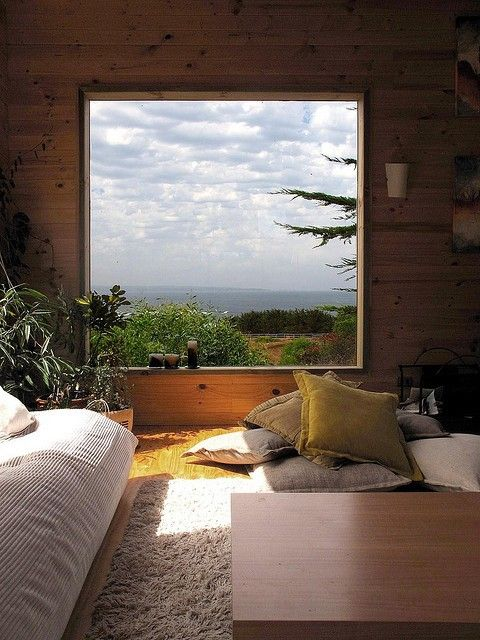 I want to look out this window every morning from bed...