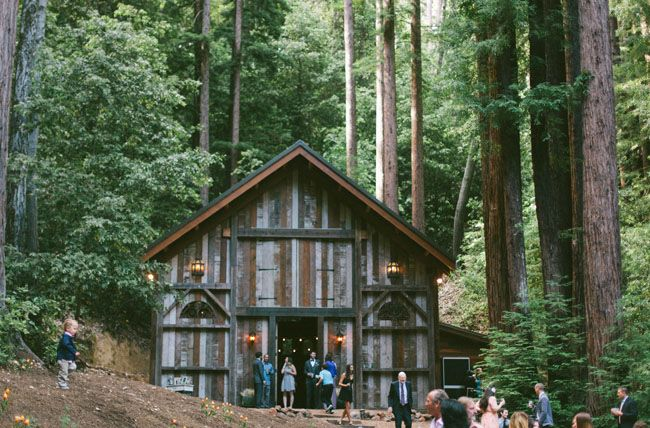 Wedding in the Redwood Forest. Photos by: http://www.katieshuler.com/