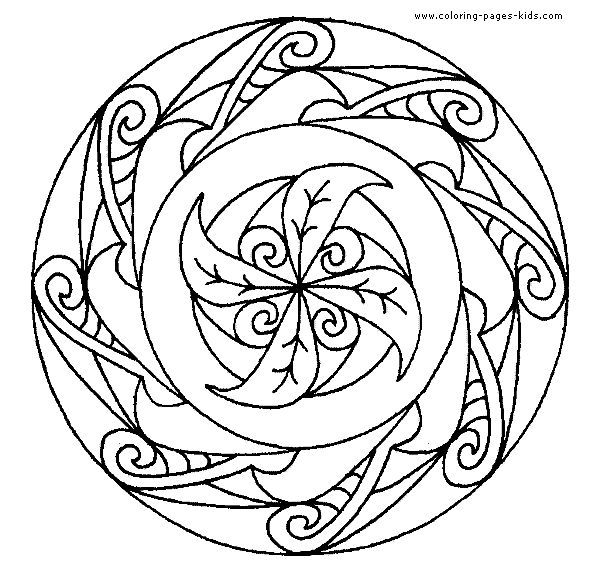 mandala coloring page 16 coloring page for kids and adults from cartoons coloring pages miscellaneous coloring pages