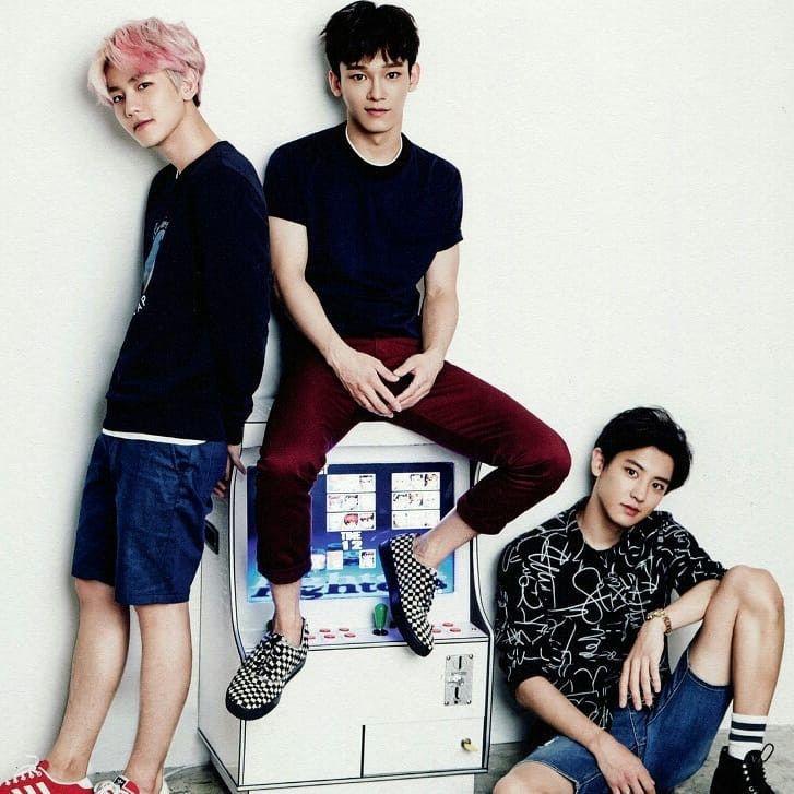 Beagle Line Exo Boy Groups Kpop