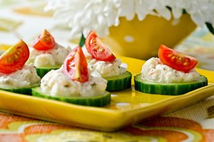 Crab-Cucumber Bites Recipe