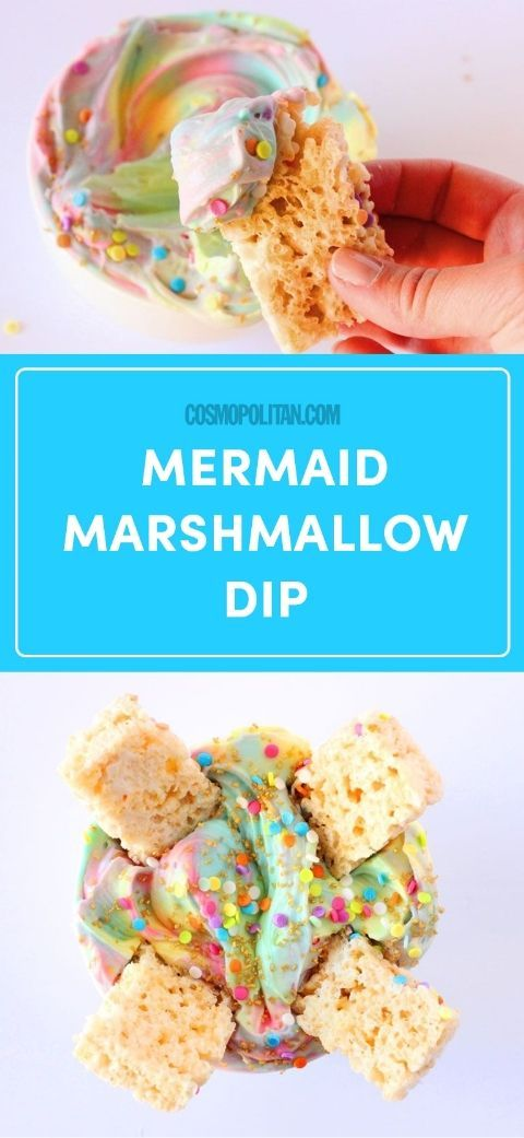 Peeps Have Nothing on This Mermaid Marshmallow Dip