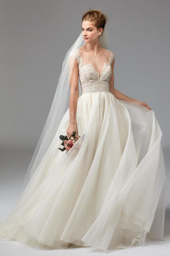 Lovely  Gorgeous Ethereal Colored Wedding Dresses