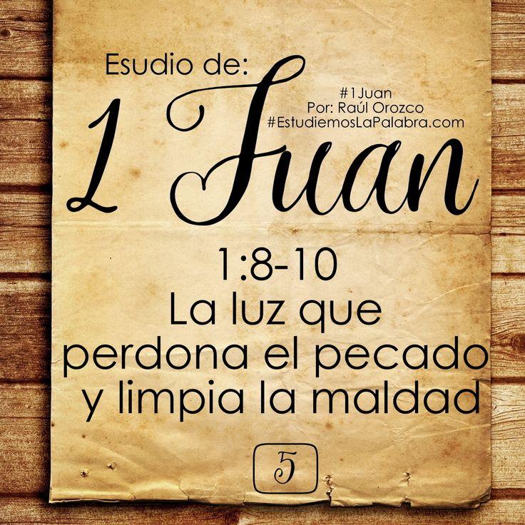 8 Si decimos que no tenemos pecado, nos engañamos a nosotros mismos y la verdad no está en nosotros. 9 Si confesamos nuestros pecados...