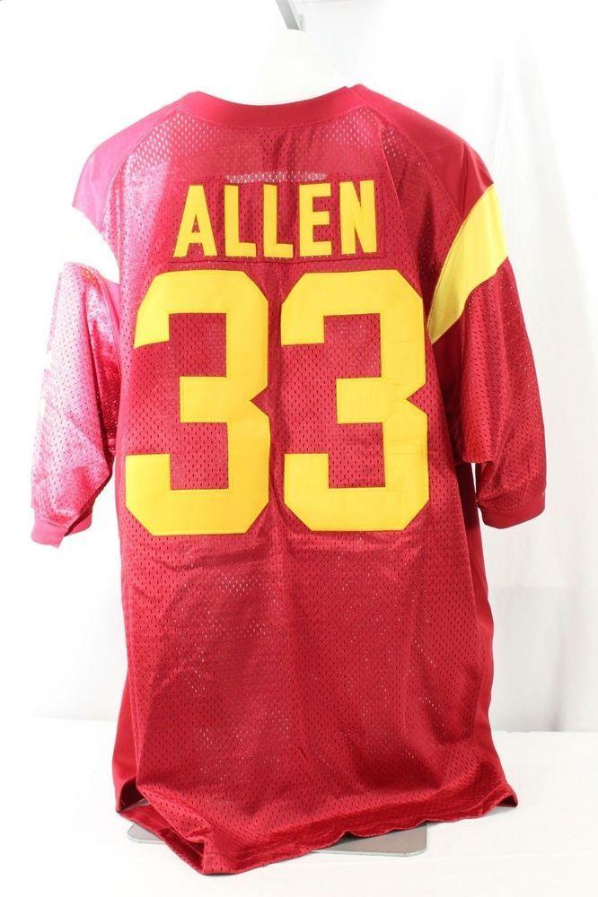 finest selection 86fe4 d47ec USC Trojans Marcus Allen #33 Maroon Jersey Nike 50 L ...