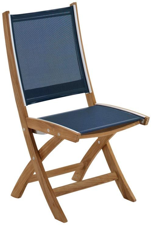 Gloster Solana Folding Side Chair