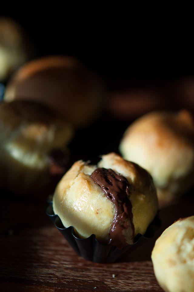 Mini chocolate brioche   Gourmantine @Gintare   Gourmantine