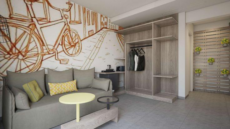 Aspalathos Junior Suite -Living Room, Elakati Luxury Boutique Hotel, Rhodes , Greece