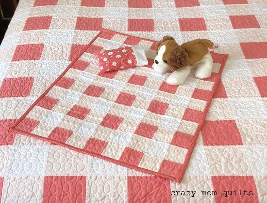 Best 25+ Doll quilt ideas on Pinterest | DIY doll quilt, Mini ... : doll quilt size - Adamdwight.com