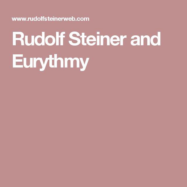 207 best Eurythmy images on Pinterest | Rudolf steiner, Waldorf ...