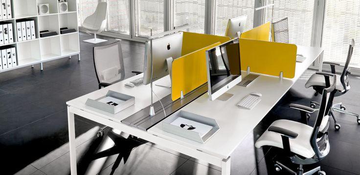 שולחנות מחשב Gap מאת DVO, מעצב Antonio Morello