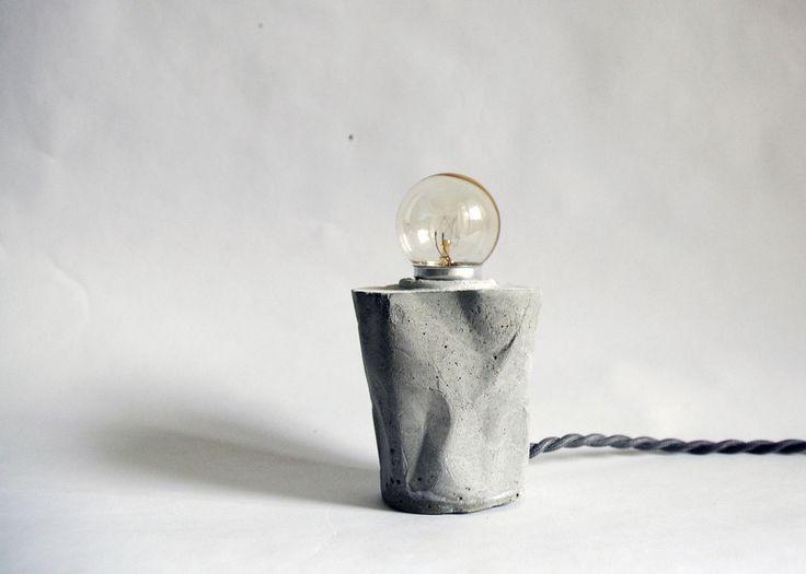 Concrete Lights Experiment by Elim Cheng | http://www.yellowtrace.com.au/clever-concrete-lights/