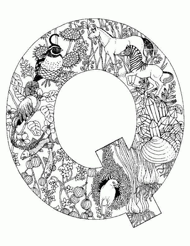 53 best alphabets images on Pinterest Coloring books, Coloring - best of animal alphabet coloring pages a z