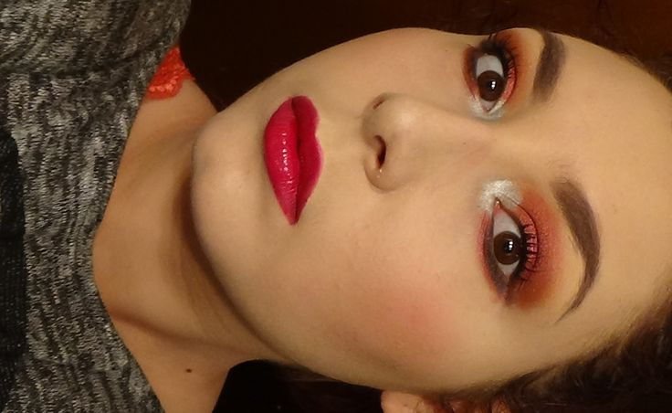 EASY Raspberry Smoky Eyes + Lips Makeup Tutorial - Trucco Lampone ft. Ac...