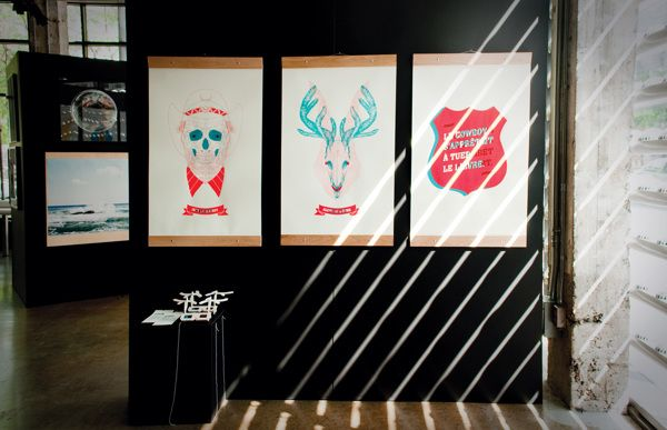 Triptyque - Chromatic 2012 - Jack & Alope by Studio Byebye Bambi, via Behance