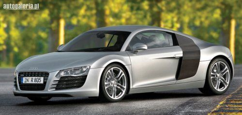 The Audi R8's top speed is 187 mph.  It is the fastest Audi ever made.  Its faster than a Marcos, TVR Sagaris, Lamborghini Countach, Lamborghini 350 GT, Lamborghini Miura and Audi TT.